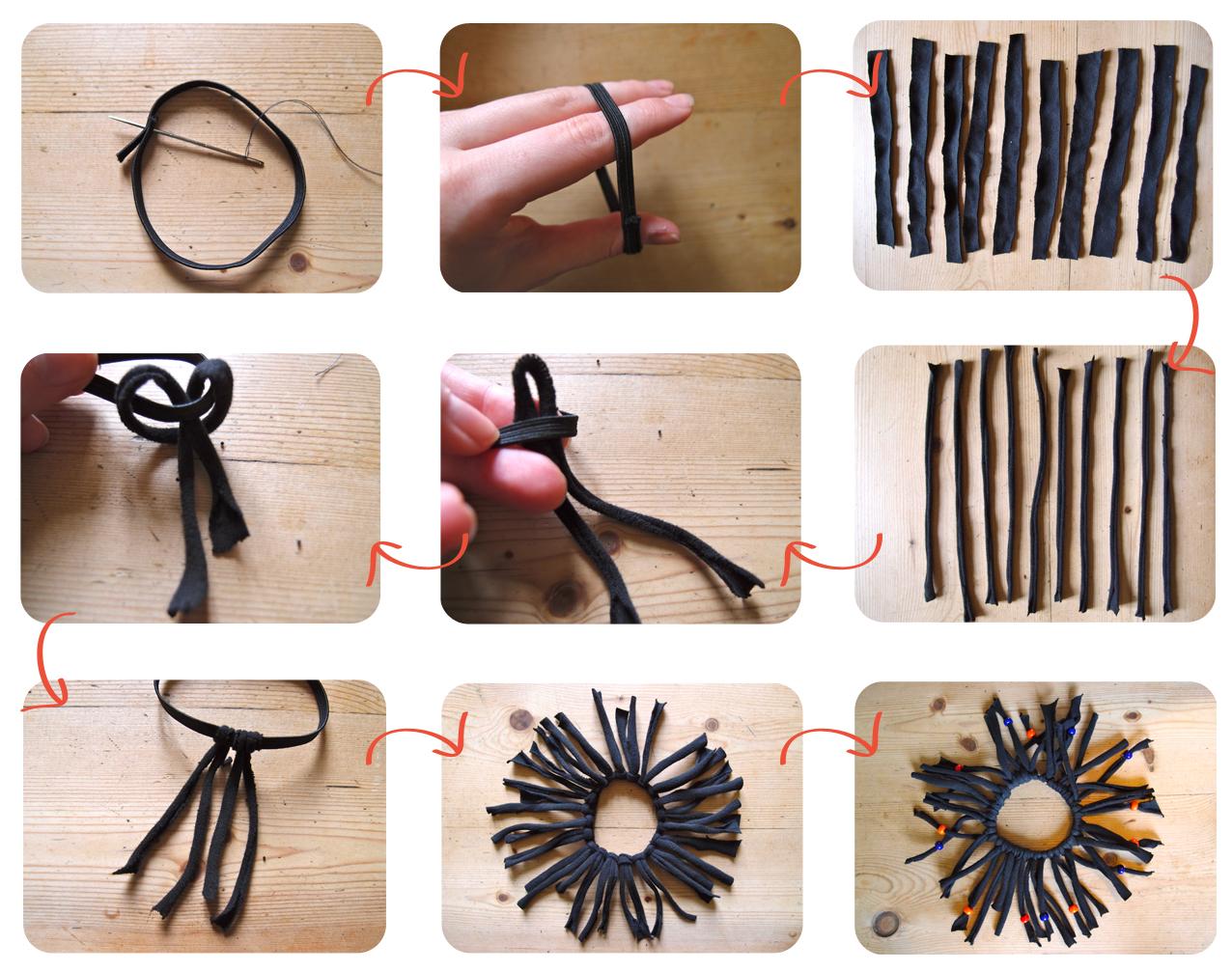 DIY Style: Beaded Ankle Bracelet foto