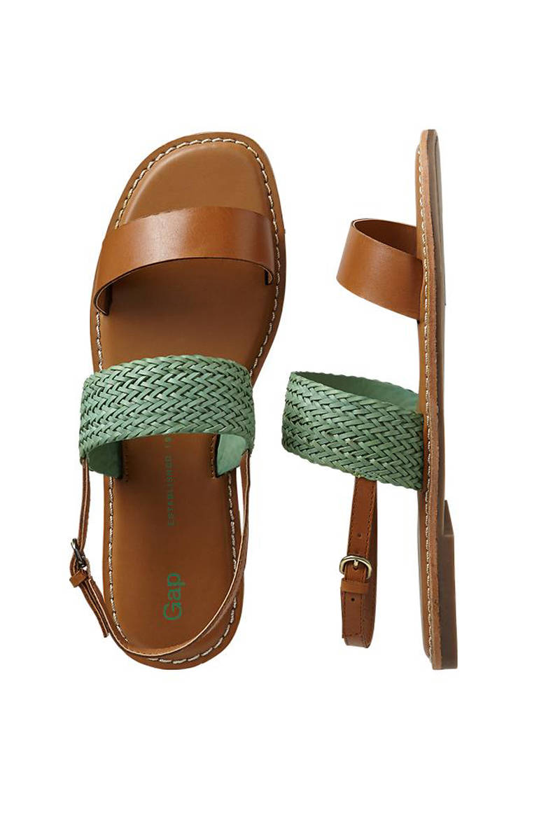 GAP Two-Band Woven Sandals, $39.95