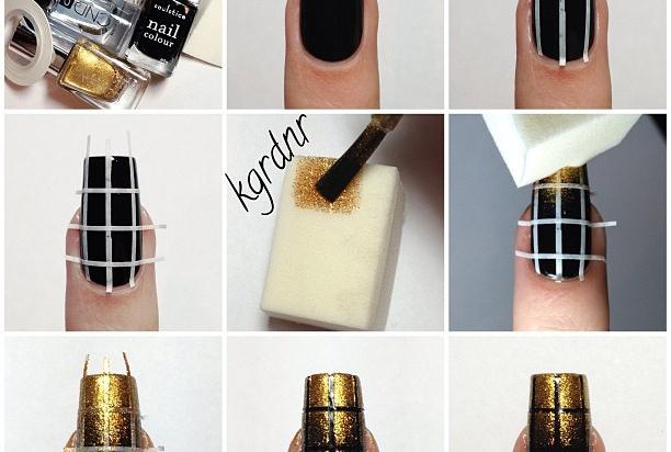 Nail Tutorials Make Nail Arts With Sponge Pretty Designs