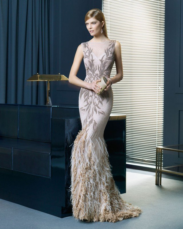 Gorgeous Long Dress By Rosa Clara