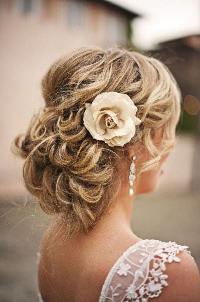 Graceful Updo Wedding Hairstyle