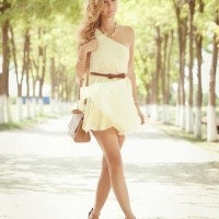 Graceful White Dress for Summer