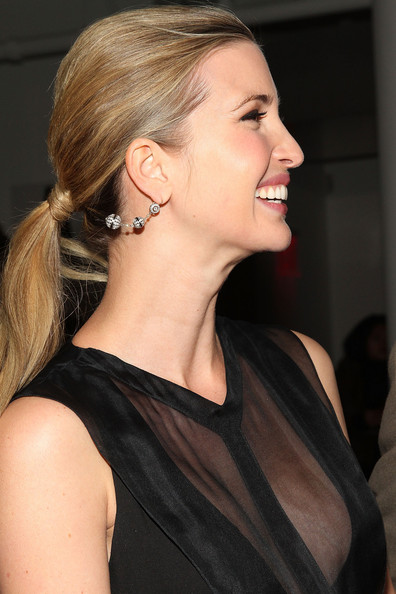 2014 latest celebrities pretty ponytail hairstyles
