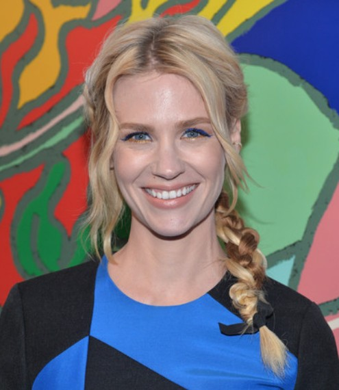 January Jones Braid/Getty Image