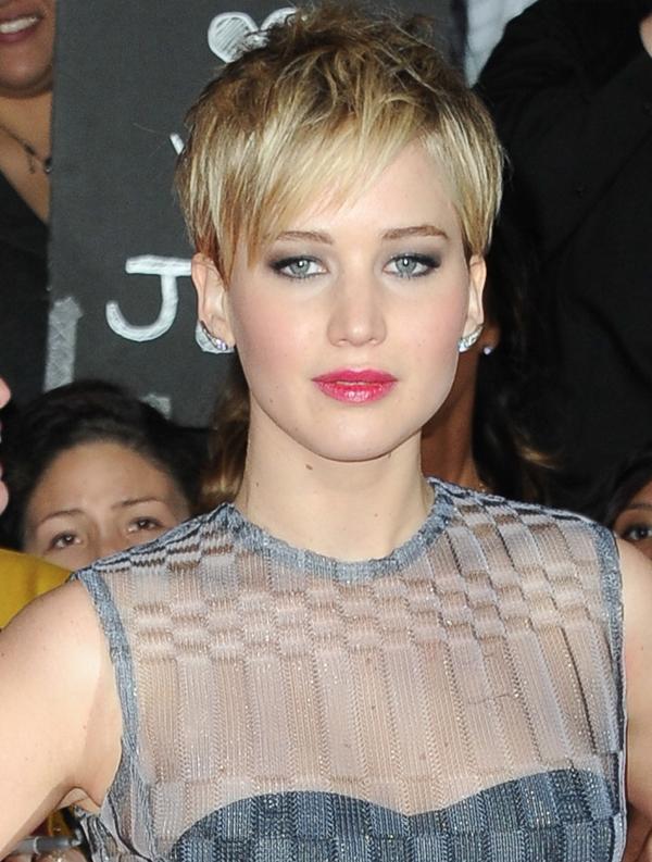 Jennifer Lawrence Pixie Haircut