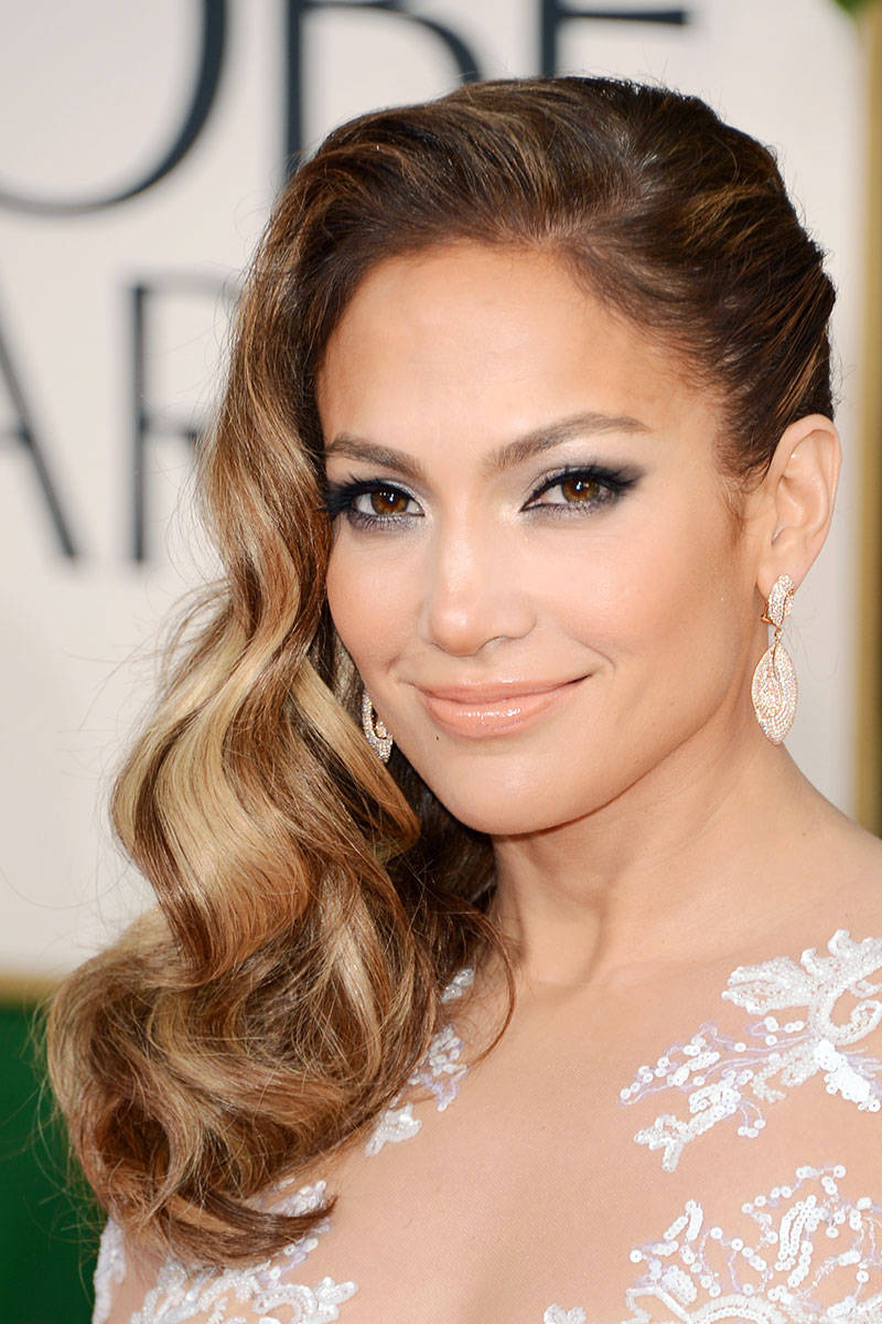 Jennifer Lopez Fantastic Makeup Idea for Wedding