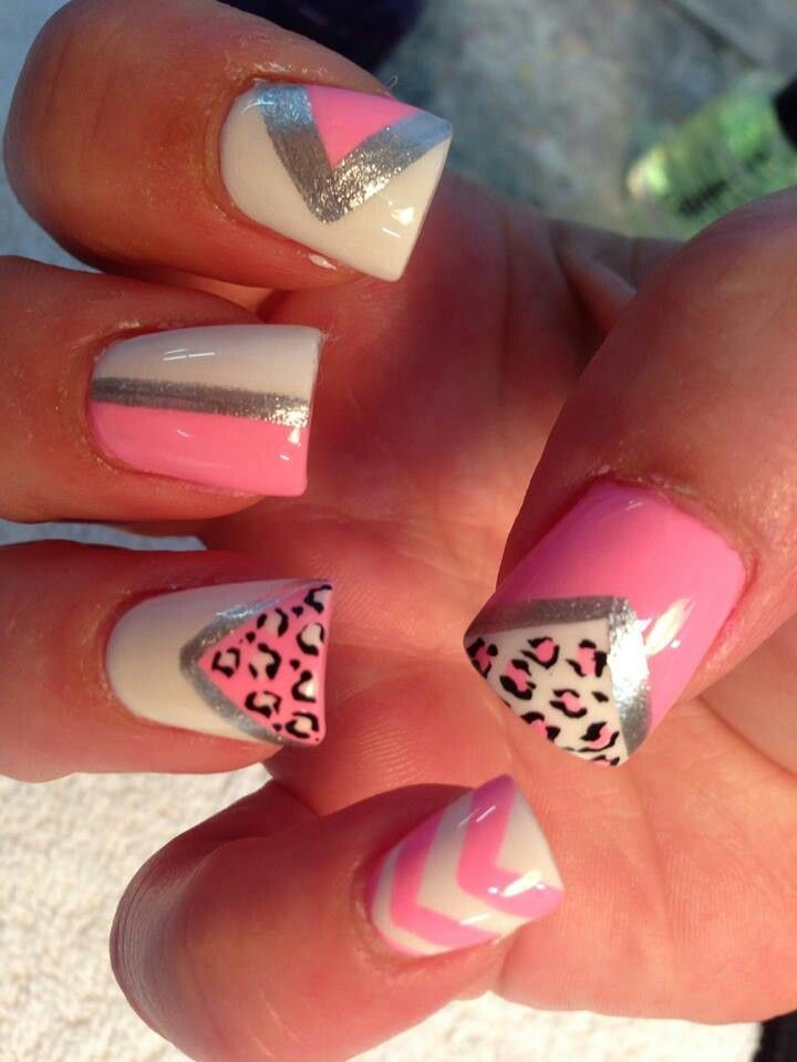 home nail designs ideas nail leopard print nail design idea. Interior Design Ideas. Home Design Ideas
