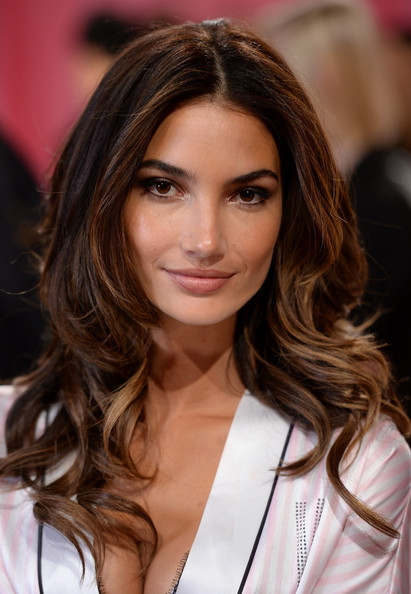 Lily Aldridge Long Curls