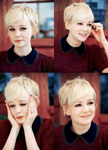Lovely Pixie Haircut for Blonde Hair