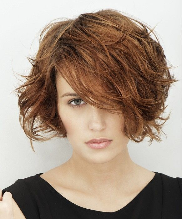 Messy Bob Hair for Brunette Hair