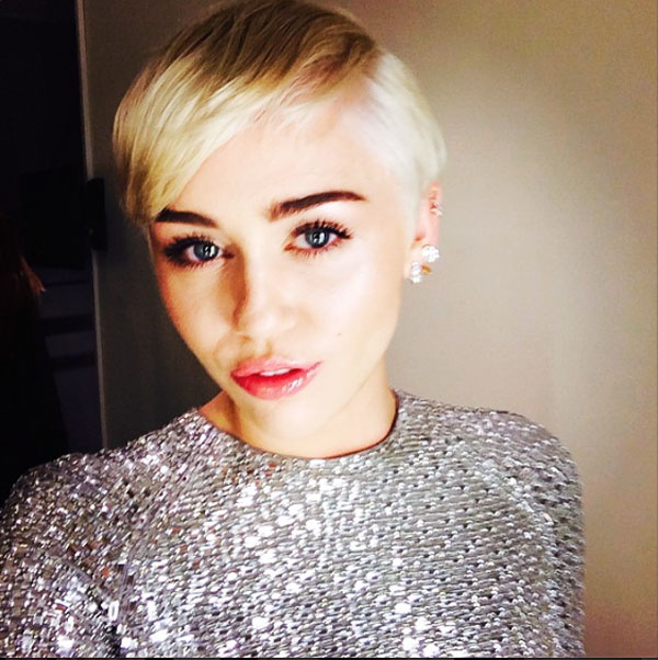 Miley Cyrus Short Haircut