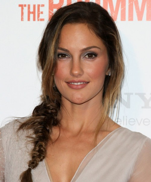 Minka Kelly Braid/Getty Image