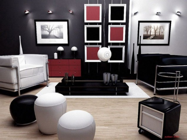 Modern Design of Living Room