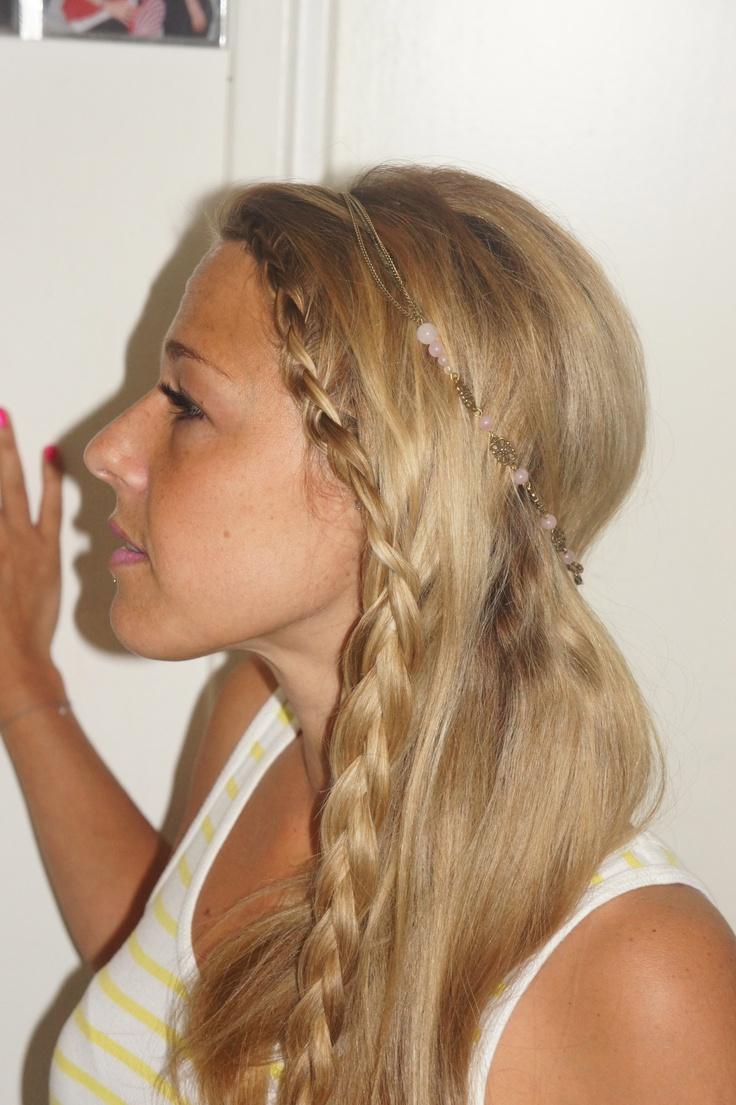 Nice Headband Hairstyle