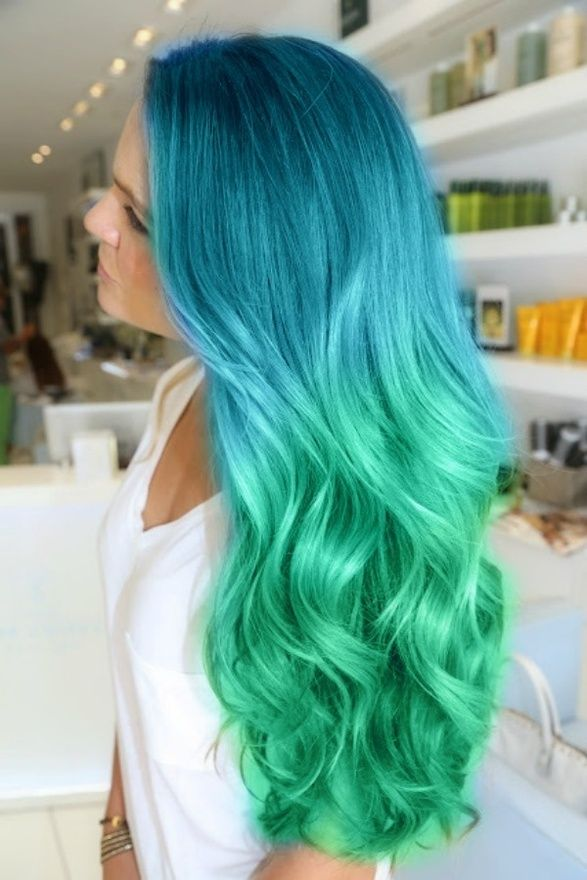 Latest Hair Color Trend Dreamy Blue Hair Pretty Designs
