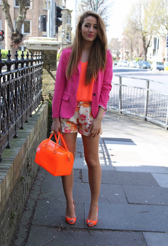 17 chic summer outfit ideas in bright colors pretty designs