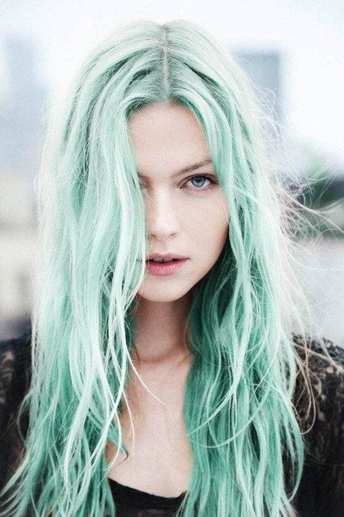 Blue Hair Trend Mermaid Inspired Hair Pretty Designs