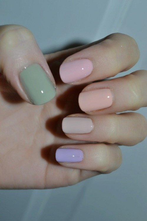 Pastel Nail Design
