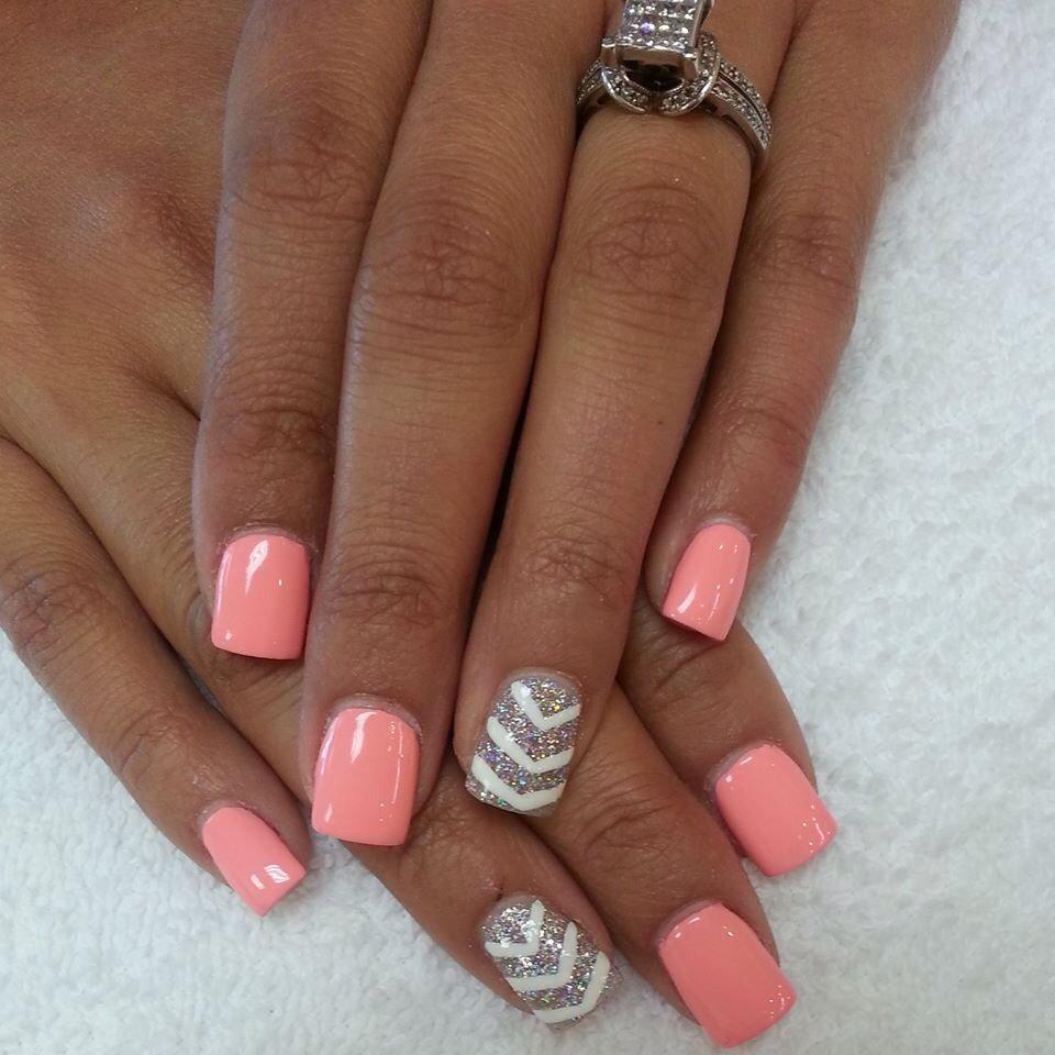 Pink Nail Design Idea