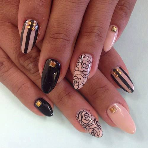 15 Fabulous Stiletto Nail Ideas on leopard and red living room ideas