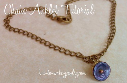 Pretty Chain Anklet