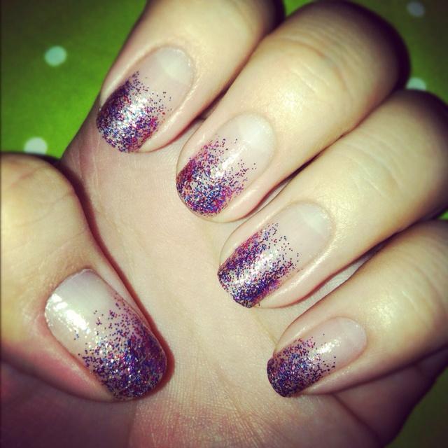 Pretty Glitter Nails
