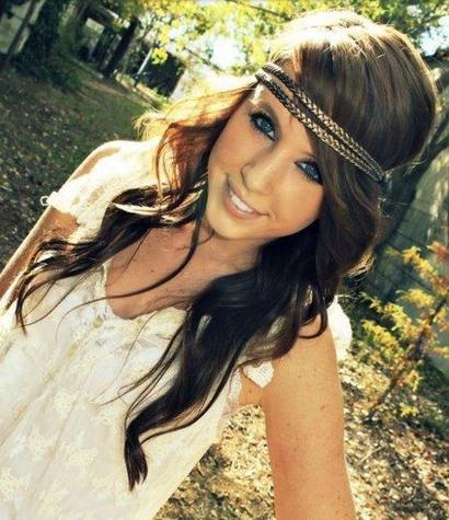 20 Gorgeous Headband Hairstyles You Love - Pretty Designs