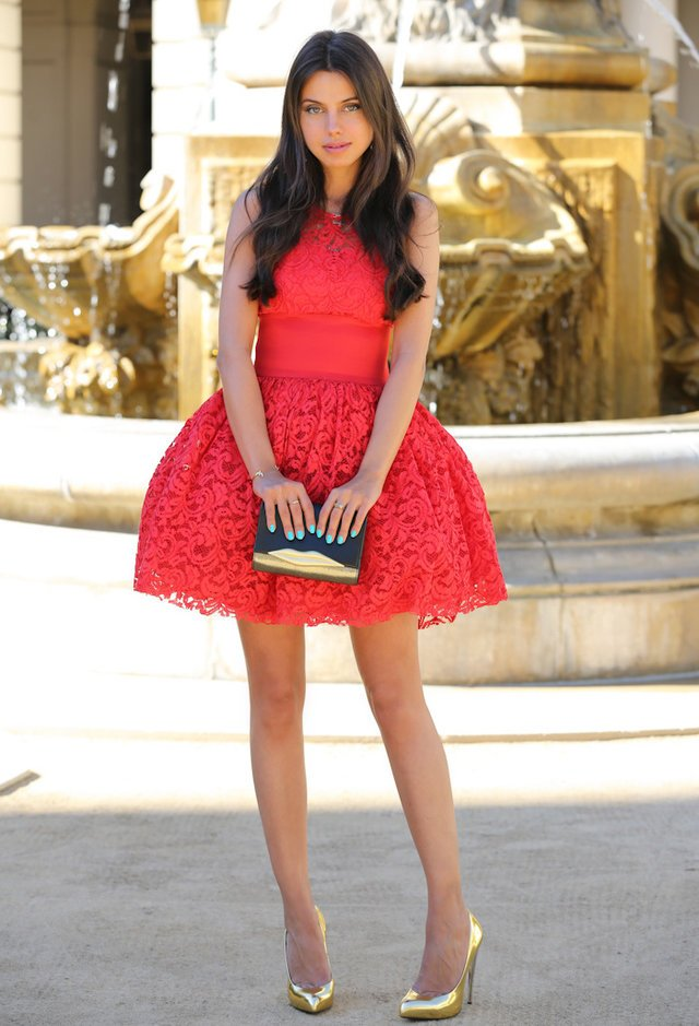 Pretty Red Dress for Summer