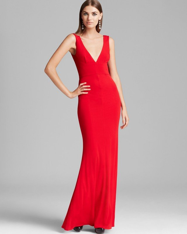 Beautiful and Romantic Red Long Dresses for Bridesmaids - Pretty ...