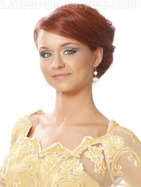 View Hairstyles Rear Of Bridal Hairstyle Womens Hair