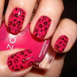 17 trendy animal print nails pretty designs red animal print nail art design prinsesfo Image collections