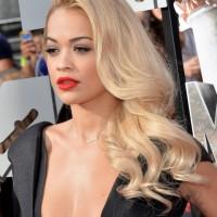 Rita Ora Long Curls