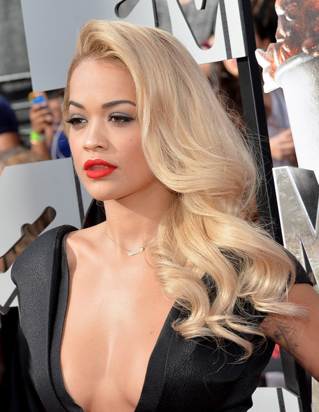 Rita Ora Long Curls