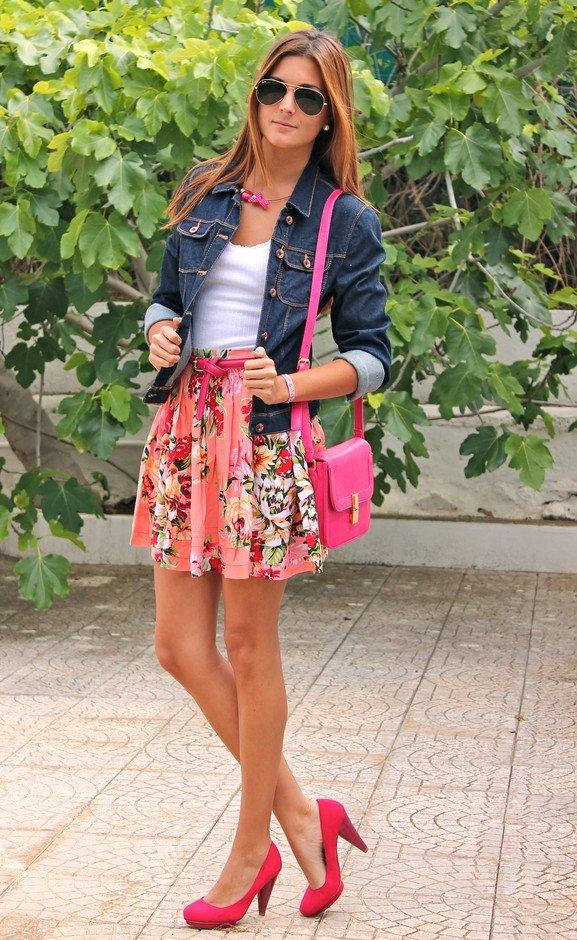 Rosy Satchel Bag