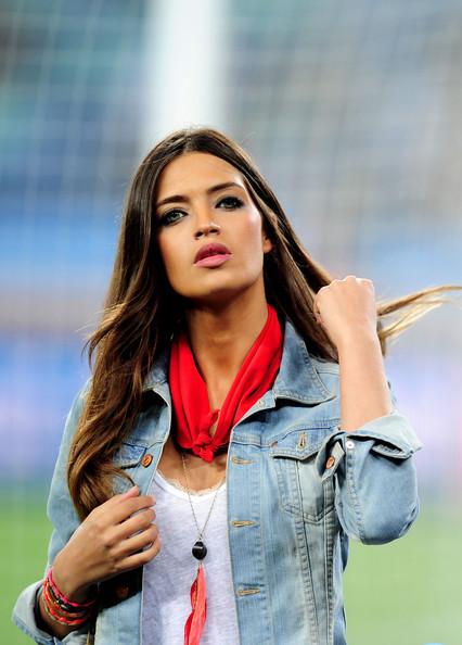 Sara Carbonero Bandana/Getty Images