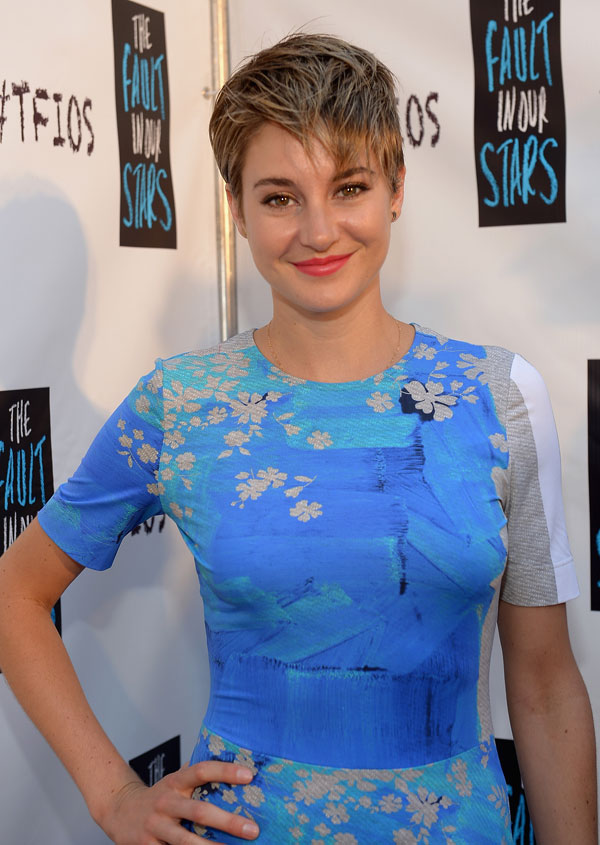 Shailene Woodley Short Haircut