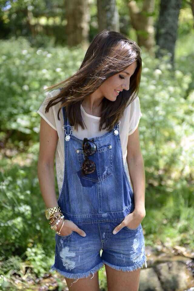 Shortalls with Fringes