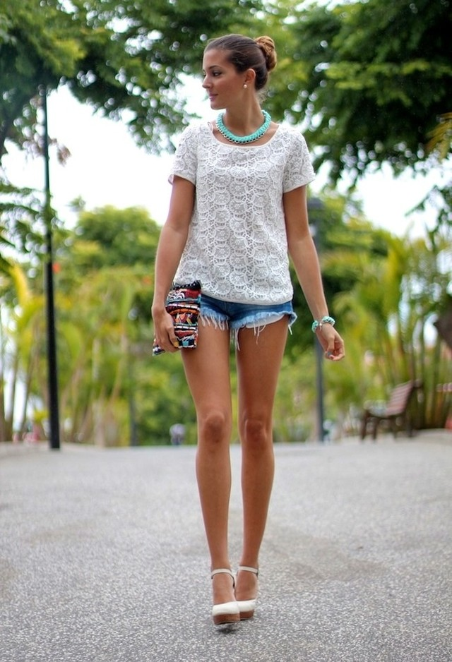 Cool Summer Outfit Ideas With Shorts Pretty Designs