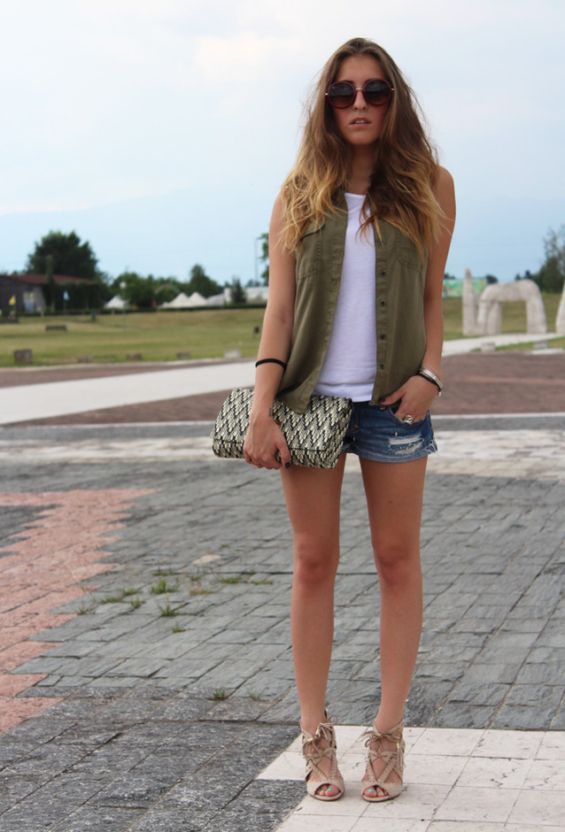 Casual-chic Outfit for Summer