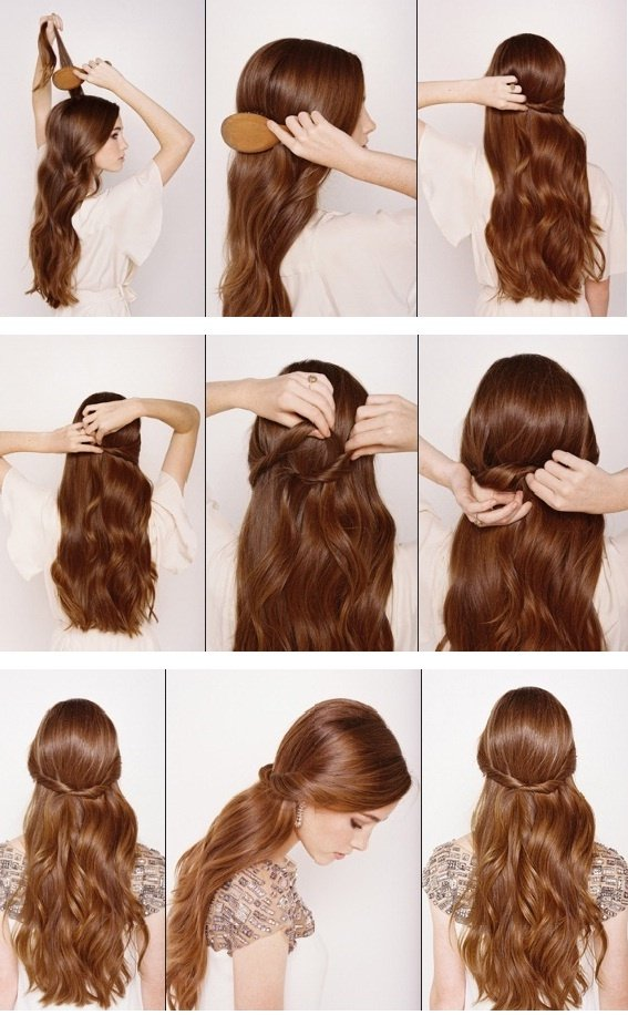 12 Half up Half down Hair Tutorials You Must Have Pretty