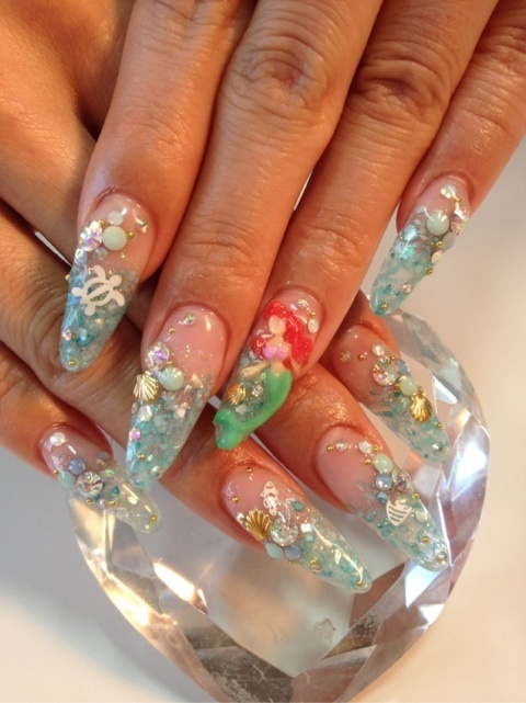 3D Nail Designs for this Week - Pretty Designs