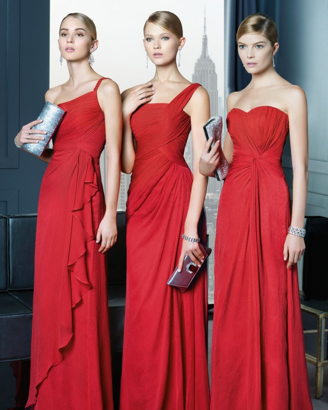 Stunning Red Long Dresses
