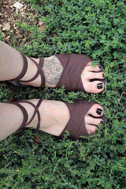 Stylish DIY Sandals