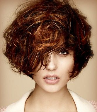 Stylish Messy Bob Hairstyle