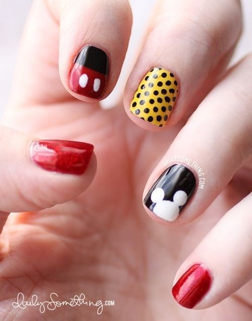 Mickey Nail Designs You Must Love