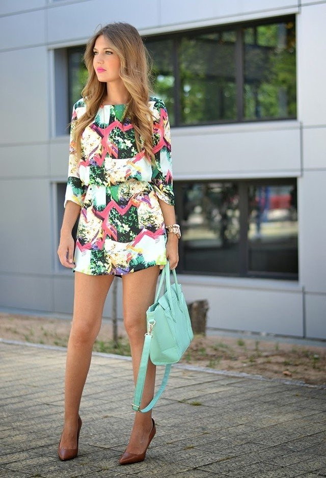 Stylish Printed Jumpsuit Outfit