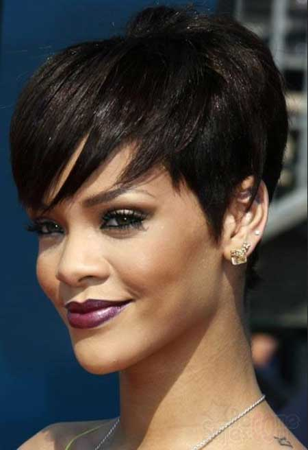 Thick Pixie Haircut for Black Hair