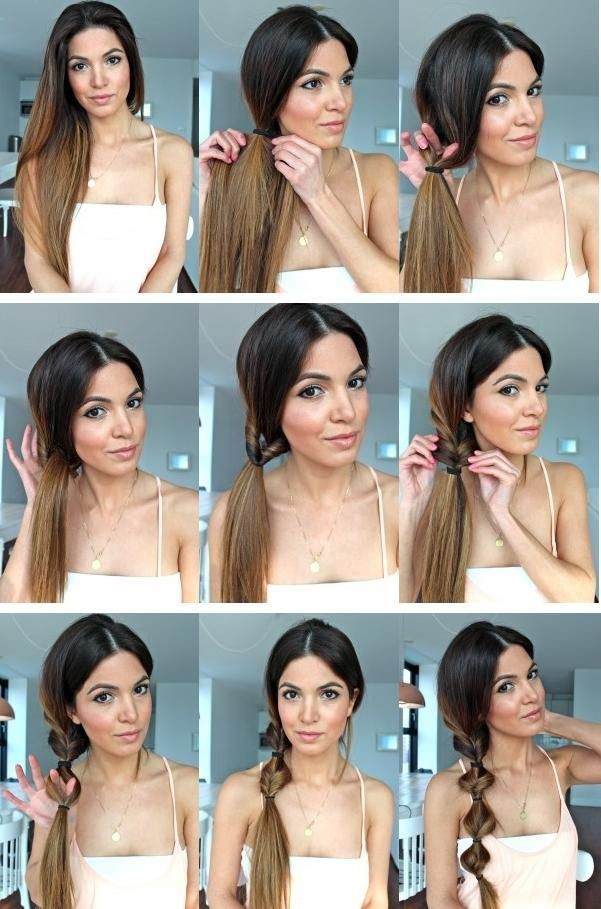 Twist Side Ponytail