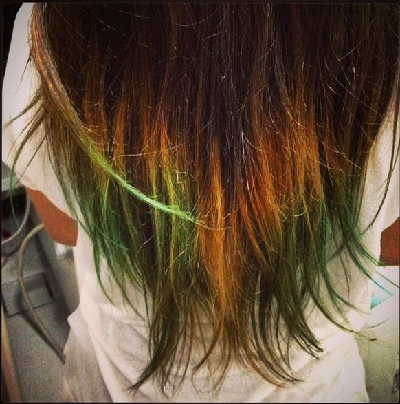 Ways To Add Funky Colors To Your Hair Pretty Designs - Hair colour of 2015