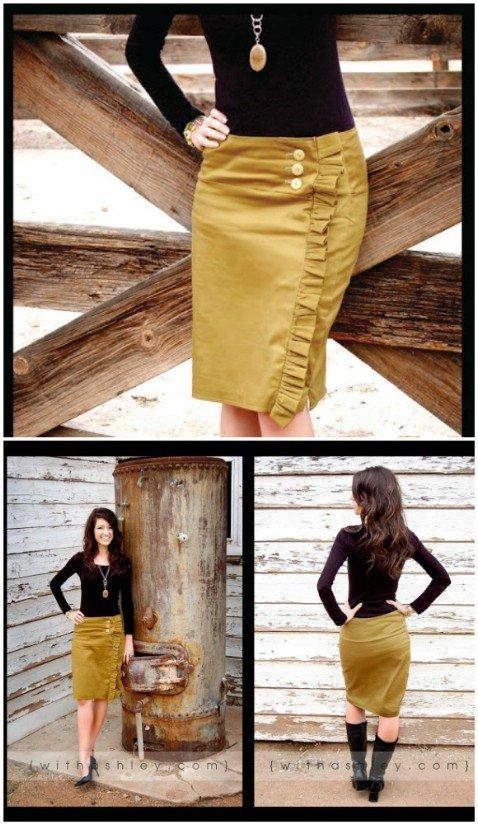 Alligator Skirt